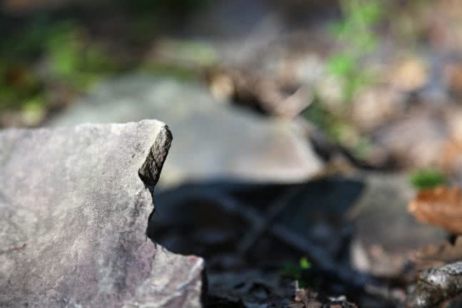 Broken stone - free stock photo