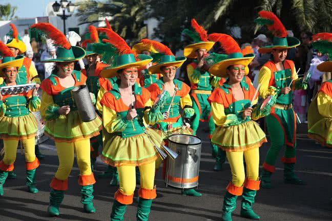 Carnival in Canary Islands - free stock photo