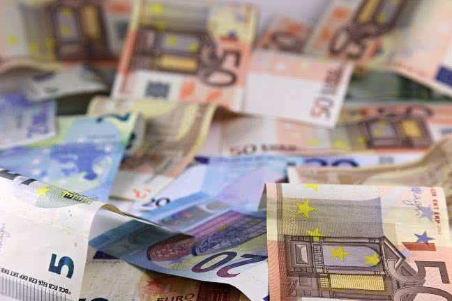 Euros on the table - free stock photo