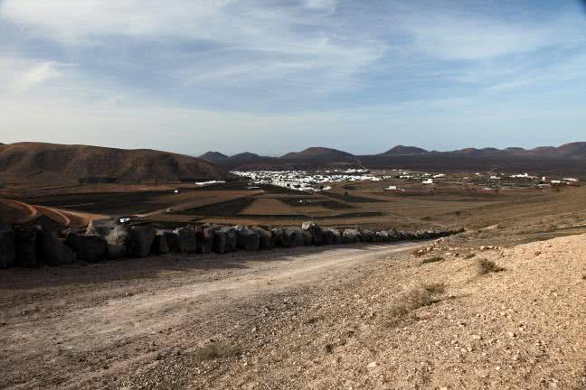 Lanzarote countryside - free stock photo