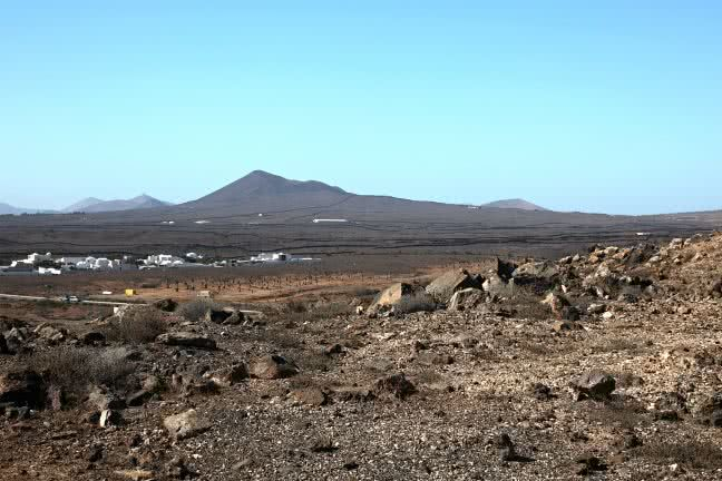Lanzarote landscape - free stock photo