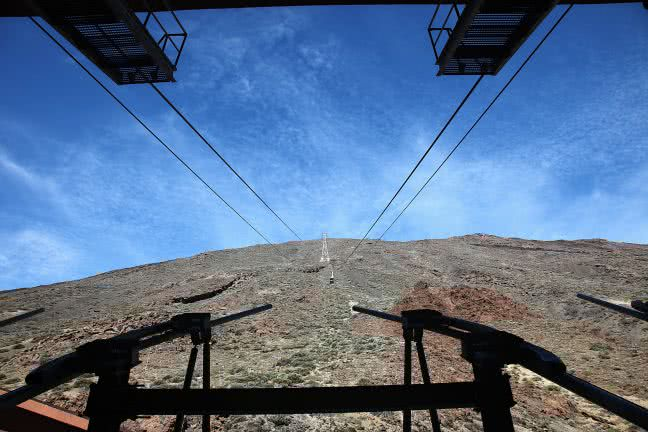 Pico del Teide cable car - free stock photo