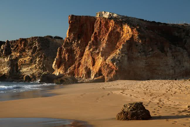Sagres beach - free stock photo