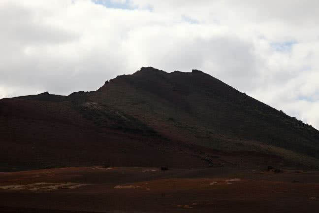 Timanfaya hill - free stock photo