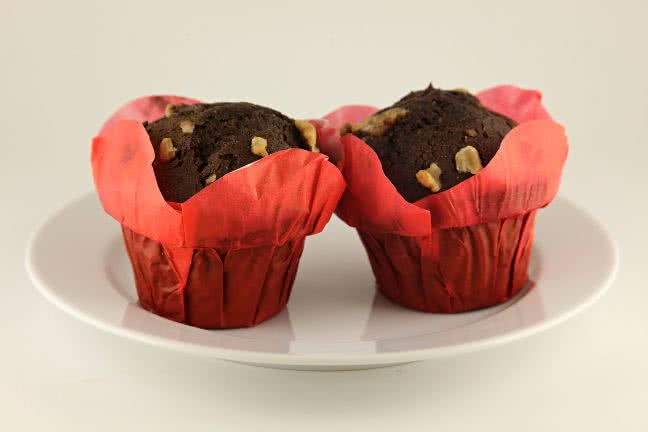 Two muffins - free stock photo