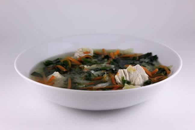 Vegetable soup - free stock photo