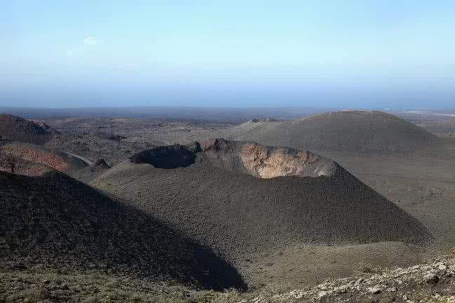 Volcanes in Timanfaya National Park - free stock photo